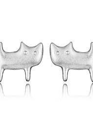 My orders cat stud earrings korean tv drama bijoux femme charms branded earrings oorbellen for women mercurial superfly