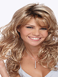 The New European And American Long Curly Synthetic Wigs