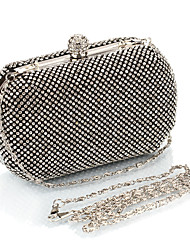 L.WEST® Women's Noble And Elegant Diamonds Party/Evening Bags