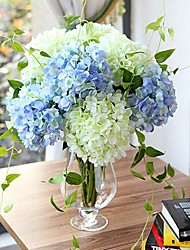 "27.6"" High Quality Artificial Hydrangea Silk Floral Decor (More Colors)"