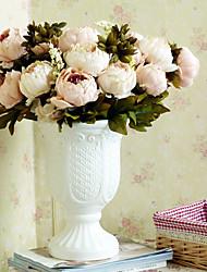 Полиэстер Пионы Искусственные Цветы