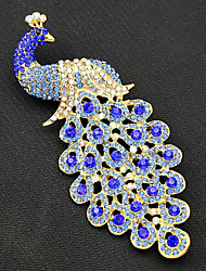 The Beautiful Peacock Brooch Wedding Decoration