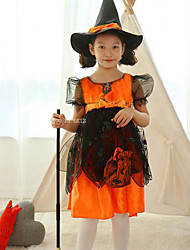 Licensed-Minnie-Mouse-Witch-fancy-dress-BNWT-girls-Halloween-costume-F-F
