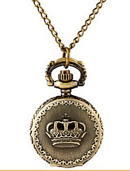 Man And Wwoman Quartz Crown Pocket Watch Cool Watch Unique Watch