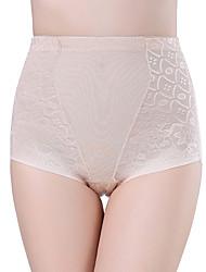 Para Mujer Bragas Panti Modelador - Algodón/Malla
