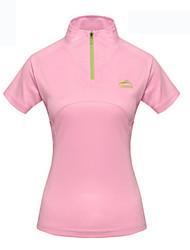 Sport Damen Langärmelige Fahhrad Wasserdicht / Atmungsaktiv / Rasche Trocknung / UV-resistant Trainingsanzug SchlankFrühling / Sommer /