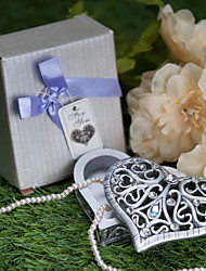 With Diamond Heart-Shaped Jewelry Box
