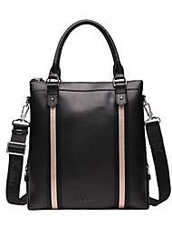 X.BNJ 1173-2 Men Briefcase High-end Soft Genuine Leather Men Business Handbag Vintage Top Layer Cowhide Shoulder Bags