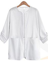 Women's Solid Shirt(cotton)