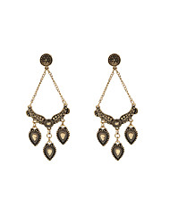 Fashion Women Vintage Metal Dangle Earrings