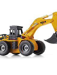 DX530 Large Alloy Wireless Remote Control Vehicle Simulation Mining Excavator Model Car