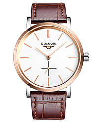GUANQIN® Fashion Men Automatic Self-winding Watch Waterproof Sapphire Crystal Steel and Leather 38mm Business Wrist Watch Cool Watch With Watch Box