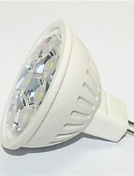 JS Lâmpadas de Foco de LED Decorativa GU10 3W 270 LM 2800-3200K   6000-6500K K Branco Quente / Branco Frio 9*SMD 3535 1 pç AC 85-265 V