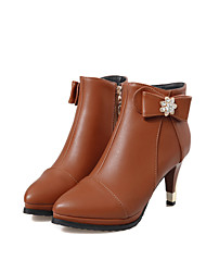 Women's Shoes Stiletto Heel Round Toe Ankle  Boots More colors available