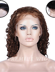 Premierwigs 8''-24'' European Virgin Water Wave Full Lace Human Hair Wigs Silk Base Lace Front Wigs For Black Women