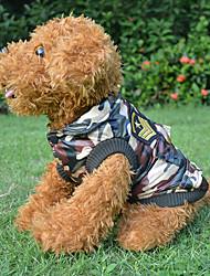 Mäntel für Hunde Winter S / M / L / XL Baumwolle