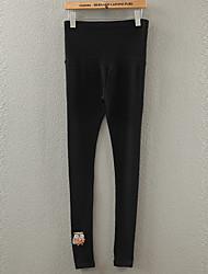 Pantaloni Maternità Casual Skinny Cotone Elasticizzato