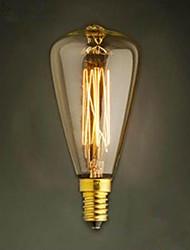 st48 E14 220 V щелочных лампочки желтого света мало винт база старинные люстры свет украшения
