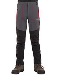 Homens Calças Acampar e Caminhar Esportes RelaxantesImpermeável Respirável Térmico/Quente Design Anatômico Permeável á Humidade Vestível