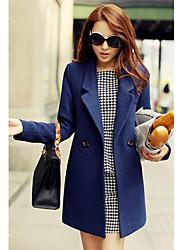 Yana Women'S Slim Lady Temperament Coat Jacket Big Yards