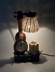 Retro Violin Creative Table Lamp Home Decoration Crafts Gifts Personality Bedroom Bedside Decoration