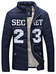 Men's Sports Jordan 23 Printing Thick Warm Coat