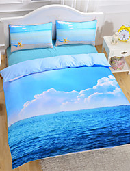 Starfish And Ocean Duvet Cover Set 3D Bedding Set Twin Full Queen