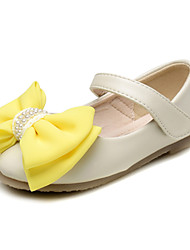 Baby Shoes Wedding / Dress / Casual Leather Flats Pink / White