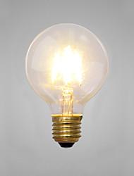 Décorative Ampoules Incandescentes , E14 / E26/E27 2 W 2 COB LM Jaune AC 100-240 V