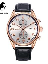 correa de reloj de cuero de la moda de los hombres con VA-nans-15071800201