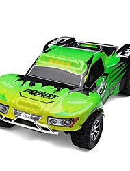 Buggy WLToys A969 1:18 Brush Electric RC Car 45KM/H 2.4G Green Ready-To-GoRemote Control Car / Remote Controller/Transmitter / Battery