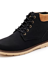 Men's Shoes Casual  Boots Black / Brown / Yellow