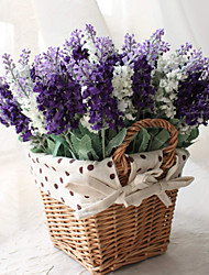 "13.8"" Three Colors Artificial Lavender 1pc/set Pure Flower for Home Decor"