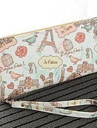 Clutch / Mobile Phone Bag - Roze - Shopper - Canvas - Dames