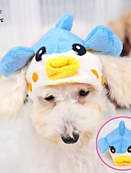 Cat / Dog Costume / Outfits / Bandanas & Hats Blue Dog Clothes Winter Wedding / Cosplay / Halloween