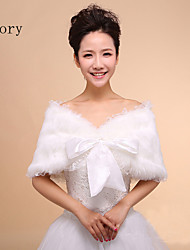 The new bride shawl wool shawls dress cheongsam shawl with thick white shawl wedding dress fall and winter