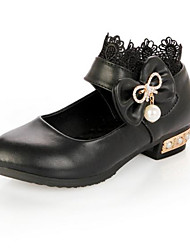 Girls' Shoes Casual Round Toe Flats Black / White
