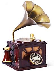 Nouveauté nouveaux phonographes maison arrivée de style européen de décor antique téléphone