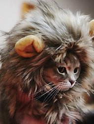 Коты / Собаки Банданы и шляпы Коричневый Одежда для собак Весна/осень Косплей
