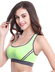 Women Gym Bra Stretch Padded Cross Over Back Seamless Casual Sport Tank Top Camis