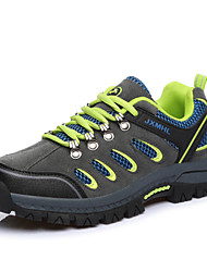 Men's Hiking Climming Shoes New Fashion Outdoor Sports Brand Waterproof Shoes Leatherette Gray