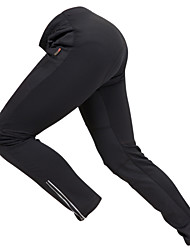 GETMOVING Cycling Pants Unisex Bike Pants/Trousers/Overtrousers Fleece Jackets BottomsWaterproof Breathable Thermal / Warm Windproof