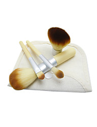 4Pcs Makeup Brushes Set Kabuki Powder Eyeshadow Cosmetic Brushes