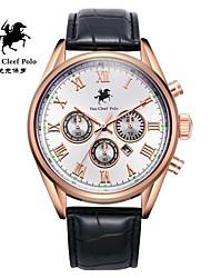 correa de reloj de cuero de la moda de los hombres con VA-nans-15071800101