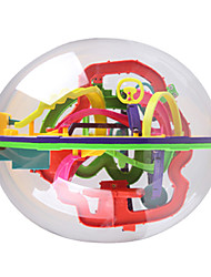 New 3D Track Maze Intelligence Ball 208 Level Kind Game Space Ball Children's Educational Toys Funny #937A