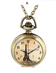 reloj de bolsillo de chip de cerámica mujer de cuarzo