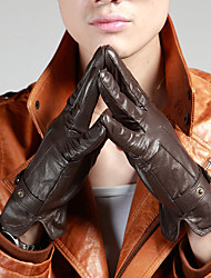 Wholesale Fashion Men's YINGSHANGMEI Genuine Leather Gloves Nappa Full-finger Winter Outdoor Keep Warm Motorcycle Gloves