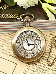 Mulheres Relógio de Bolso Quartz Lega Banda marca-