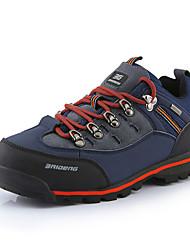 Men's Hiking Shoes Leather Blue / Yellow / Orange