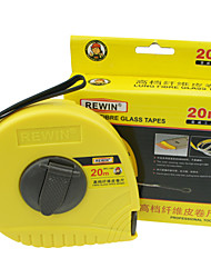 REWIN® TOOL Top Grade Fiberglass Tape With ABS Material 20m